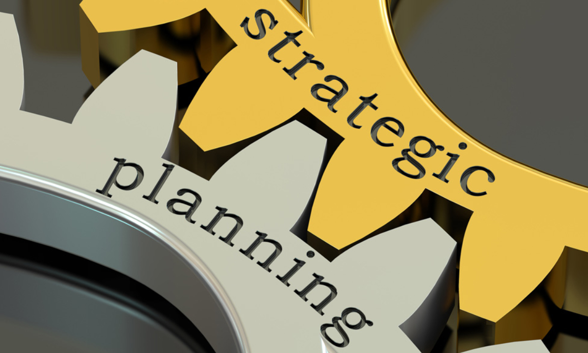 Image Represents the Strategic Planning Concept.